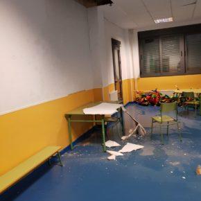 Cs urge a Ayuntamiento y Junta un acuerdo para arreglar los desperfectos del colegio Ciudad Encantada