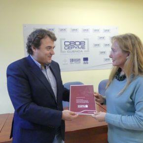 Ciudadanos y CEOE Cepyme intercambian sus propuestas para mejorar el tejido empresarial de Cuenca