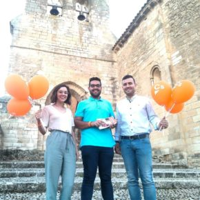 Cristian Luján, candidato a la alcaldía para el Ayuntamiento de Arcas presenta su propuesta en el municipio.