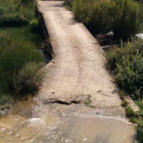 El alcalde de Ciudadanos en Albendea exige actuaciones urgentes para arreglar el Puente de la Cadena