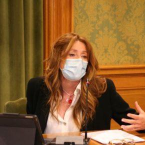 """Cristina Fuentes: """"Vamos a llegar hasta el final para evitar que se venda el patrimonio de los conquenses"""""""
